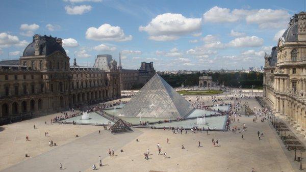 Louvre Museum Paris Hd Wallpaper
