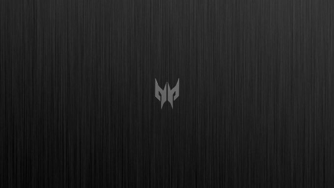 Acer Predator Logo On Brushed Metal Hd Wallpaper
