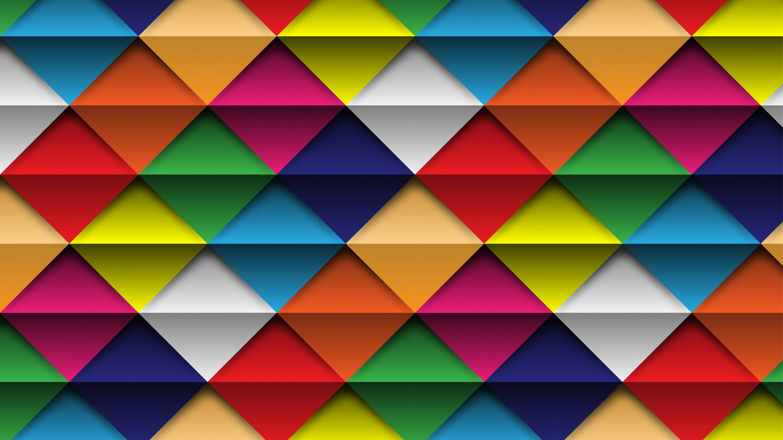 geometry colorful triangles and