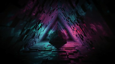 cube 4k 3d abstract figure wallpapers