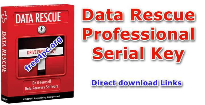 Data Rescue Professional Serial Key