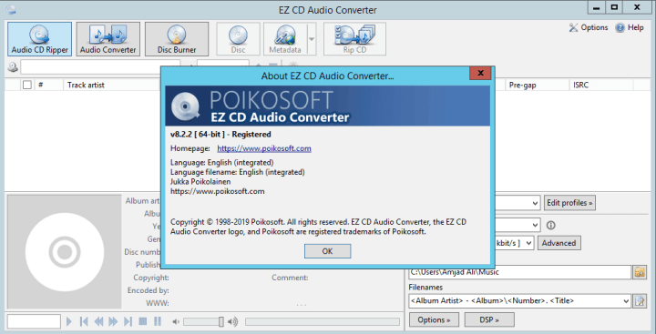 EZ CD Audio Converter With Crack