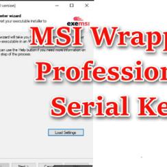 MSI Wrapper Professional Serial Key
