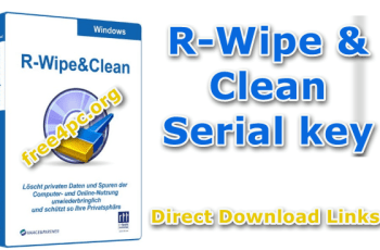 R-Wipe & Clean Serial key