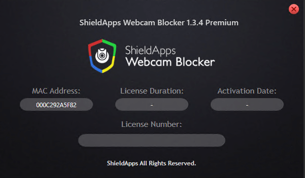 ShieldApps Webcam Blocker Premium 1.3.4 crack