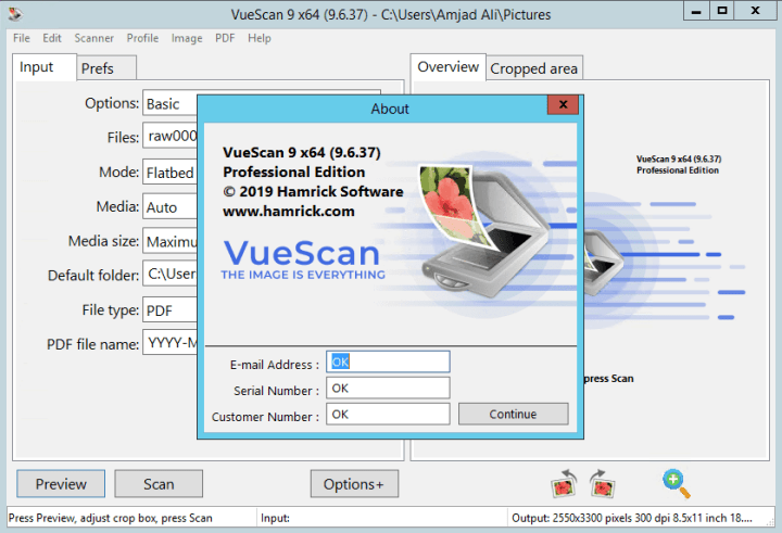 VueScan Pro Crack 9.7.37 With Keygen Download [Latest]