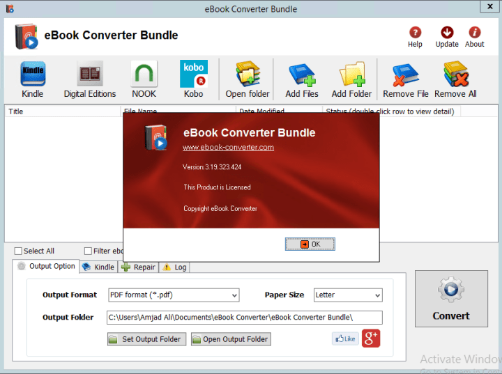 eBook Converter Bundle 3.19.323.424 Crack