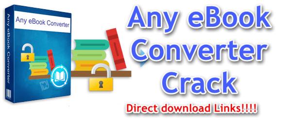 Any eBook Converter Crack