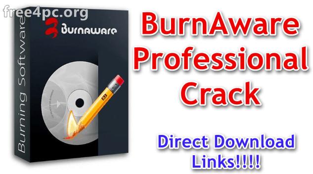 BurnAware Professional Crack