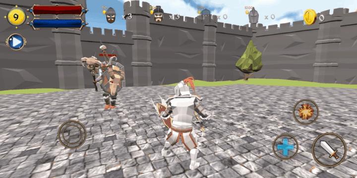 Castle Defense Knight Fight v1.0 MOD APK