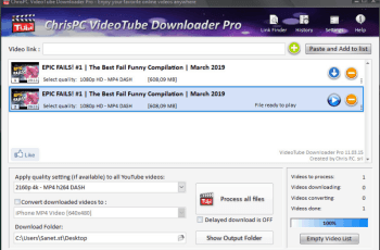 ChrisPC VideoTube Downloader Pro Crack