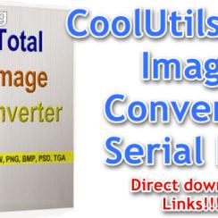 CoolUtils Total Image Converter Serial Key