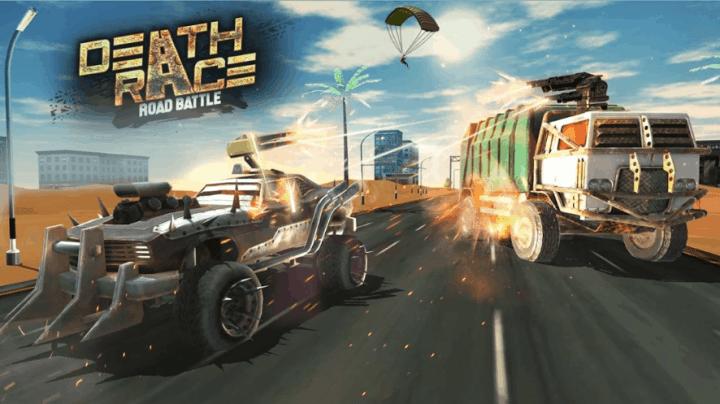 Death Race Road Battle v1.4 MOD APK