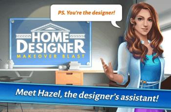 Home Designer - Match + Blast to Design a Makeover v1.1.3 MOD APK