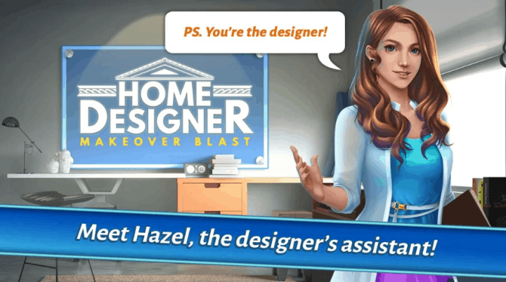 Home Designer - Match + Blast to Design a Makeover v1.1.3 MOD APK