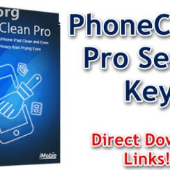 PhoneClean Pro Serial KeySerial Key