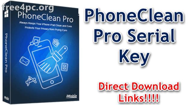 PhoneClean Pro Serial Key