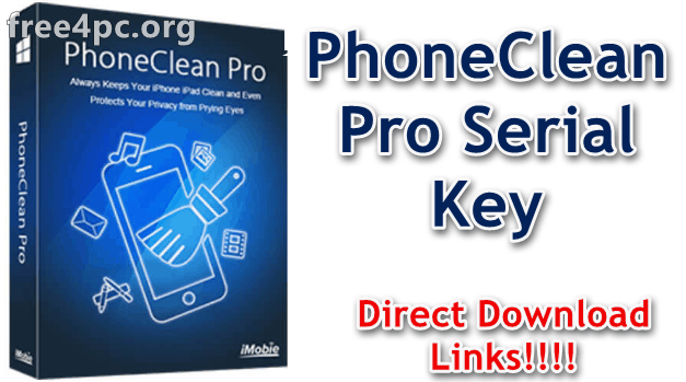 PhoneClean Pro Serial Key