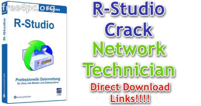 R-Studio R-Studio 8 10 Build 173981 With Crack [Network Technician ]