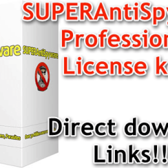 SUPERAntiSpyware Professional License key