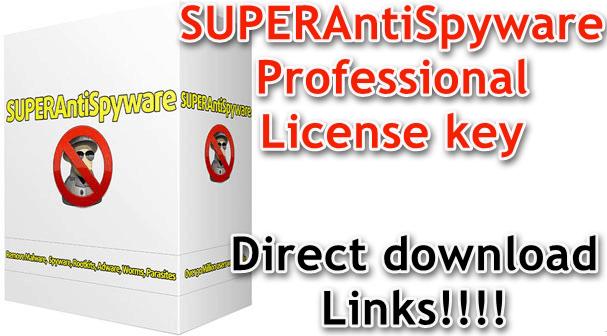 SUPERAntiSpyware Professional License key