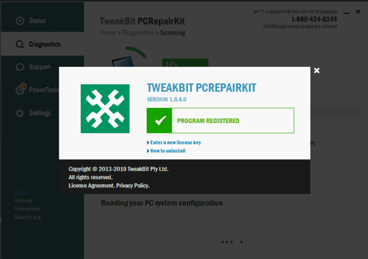 TweakBit PCRepairKit Crack