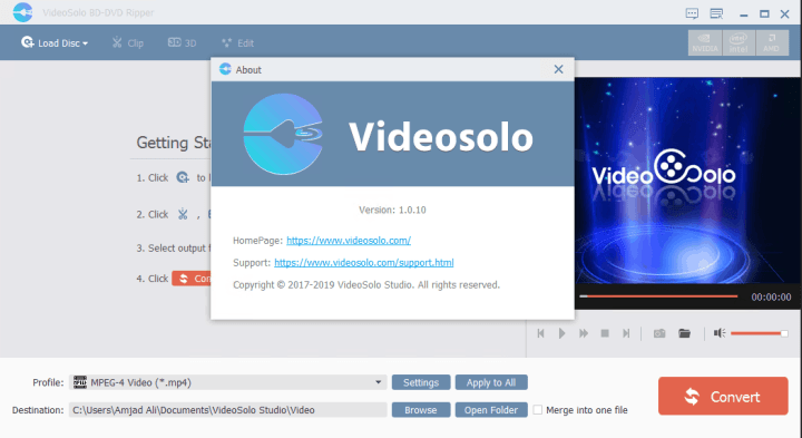 VideoSolo BD-DVD Ripper full version