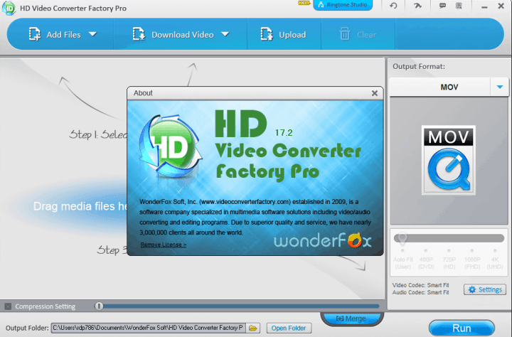 WonderFox HD Video Converter Factory Pro 17.2 Crack