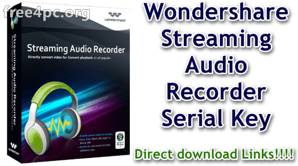 2.0.0.21 STREAMING AUDIO RECORDER TÉLÉCHARGER WONDERSHARE