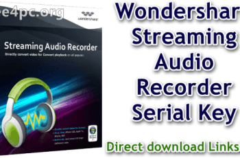 Wondershare Streaming Audio Recorder Serial Key