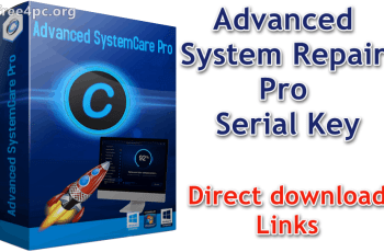 Advanced System Repair Pro Serial Key