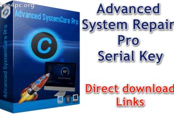Advanced System Repair Pro Serial Key