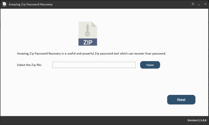 Amazing Zip Password Recovery Crack