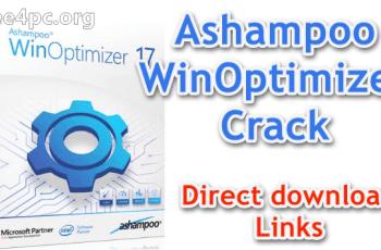 Ashampoo WinOptimizer Crack