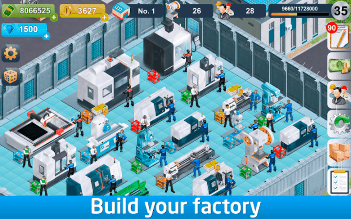 Industrialist – factory development strategy v1.700 MOD APK