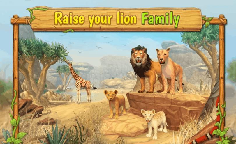 Lion Family Sim Online v2.1 MOD APK