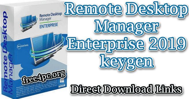 remote desktop manager 7 keygen