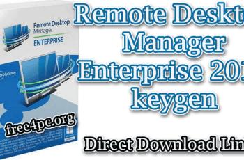 Remote Desktop Manager Enterprise 2019 keygen