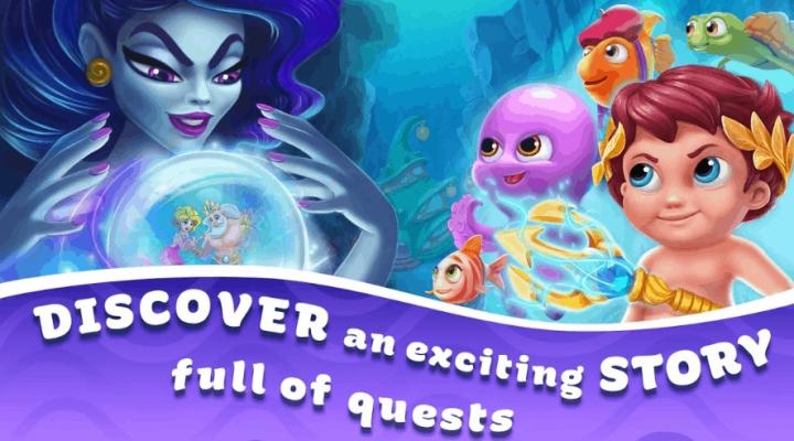 Seascapes Trito's Adventure v3.5 MOD APK
