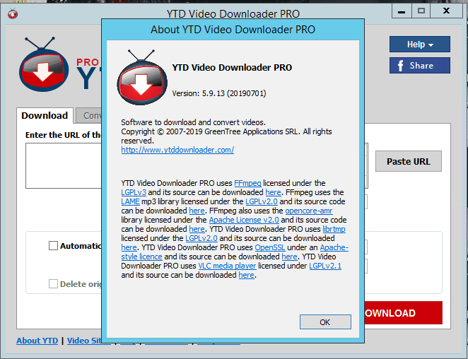 YTD Video Downloader Pro 5.9.13.2 Crack