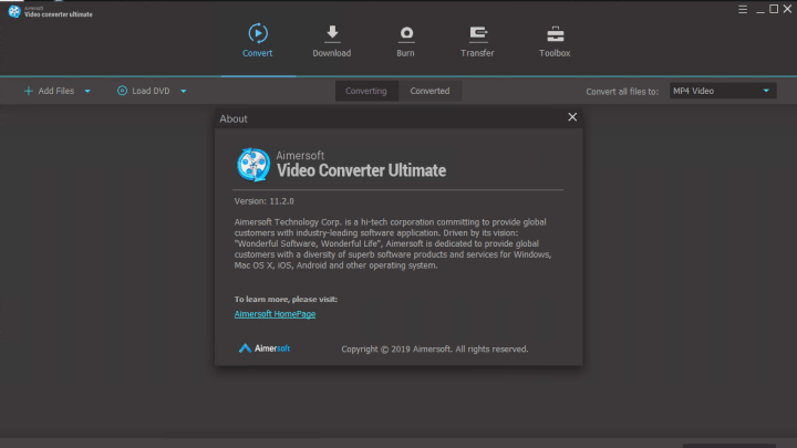 Aimersoft Video Converter Ultimate 11.2.0.231 Full version