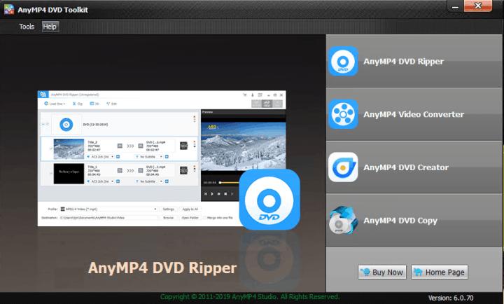 AnyMP4 DVD Toolkit 6.0.70 Crack