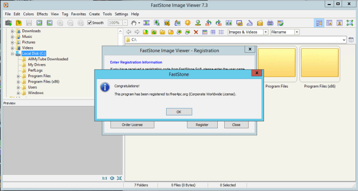 FastStone Image Viewer 7.3 Corporate Keygen