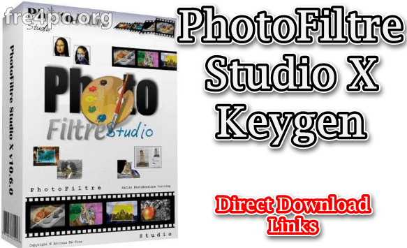 PhotoFiltre Studio X Keygen