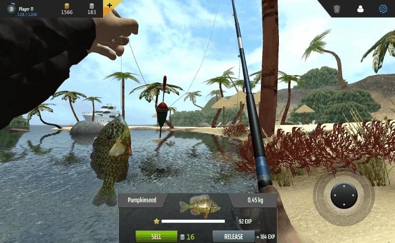 Professional Fishing v1.20 MOD APK