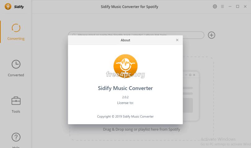 Sidify Music Converter 2.0.2 Full version