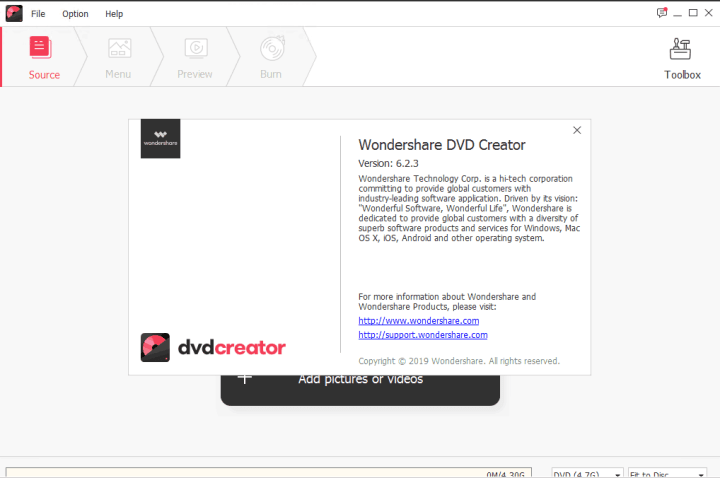 Wondershare DVD Creator 6.2.3.101 Crack