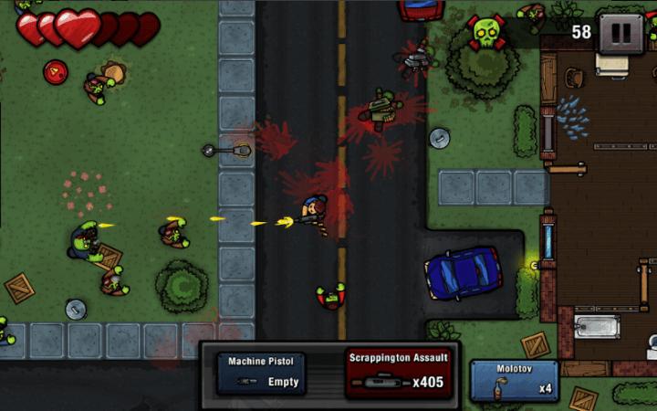 Zombie Scrapper v1.21 MOD APK [Unlimited Money]