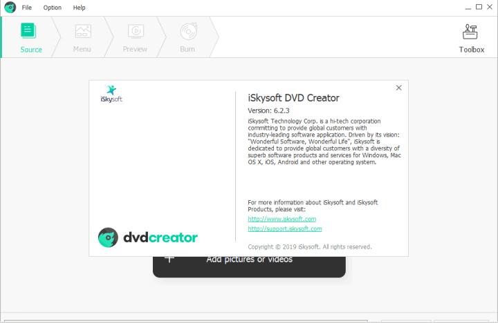 iSkysoft DVD Creator 6.2.3.102 Crack