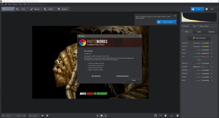AMS Software PhotoWorks 6.00 Crack